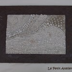 Mosaique en monochrome