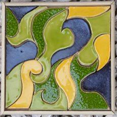 Petites mosaïques 10x10 cm